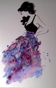 beautiful-dress-watercolour-ink-43-x-30-cm-for-sale-30