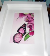 reflections of a butterfly (2)