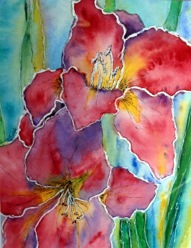 watercolour-flowers-sold